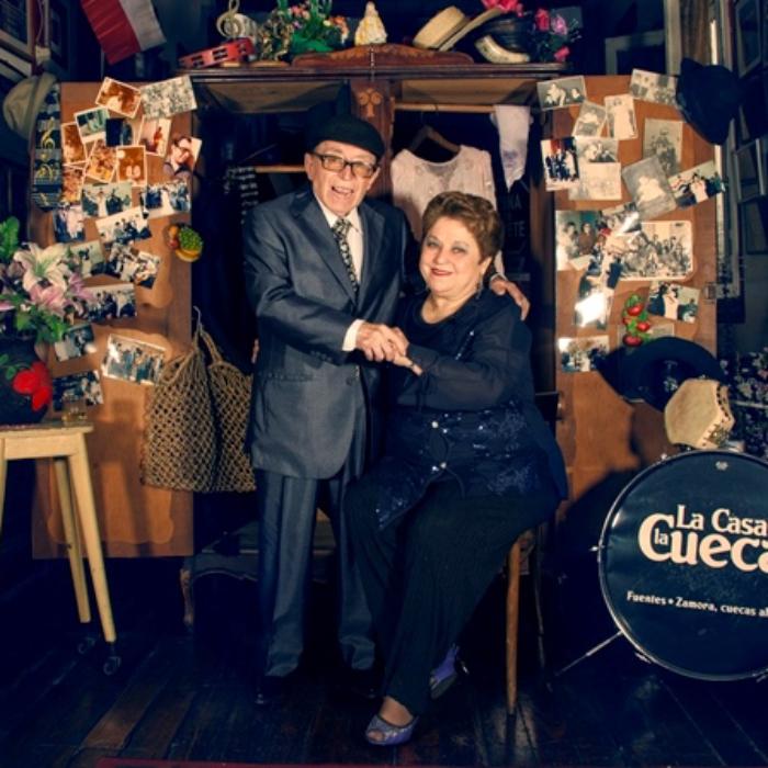 Maria Esther Zamora y Pepe Fuentes